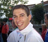Иван в очакване на откриване на БШО и награждаване от спринта