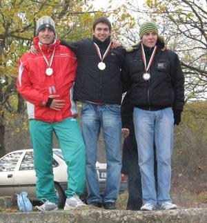 ДП Маратон – 1. Иван Сираков, 2. Петър Доганов, 3. Тони Льонков