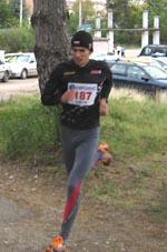 Малко преди да финиширам бях доста изморен