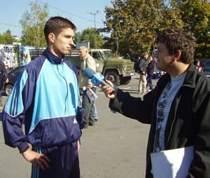 Интервюираха ме от Канал 1