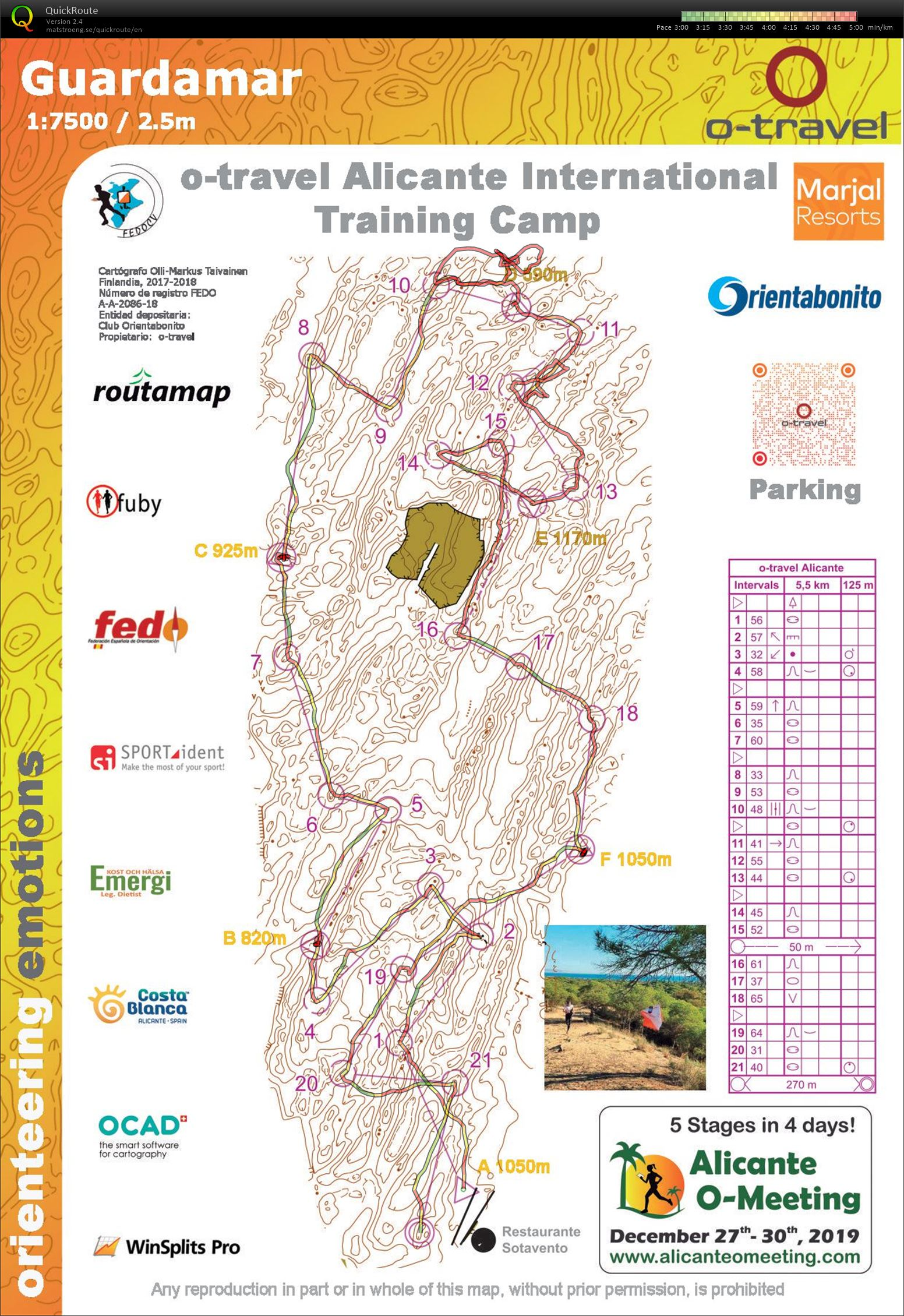 Alicante camp #11 - O-intervals (19/02/2019)