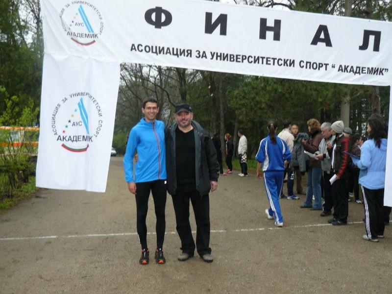 С ректора на ВТУ проф. Пламен Легкоступ