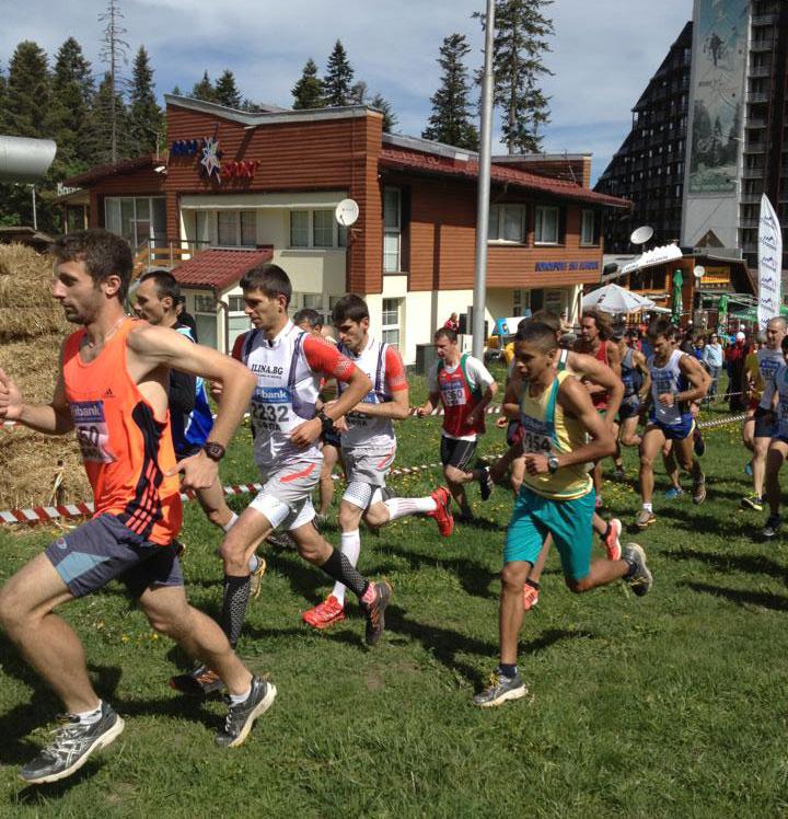Държавно първенство по Планинско бягане 2013, Боровец - старт мъже