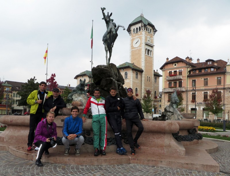 Italy, WOC 2014 camp