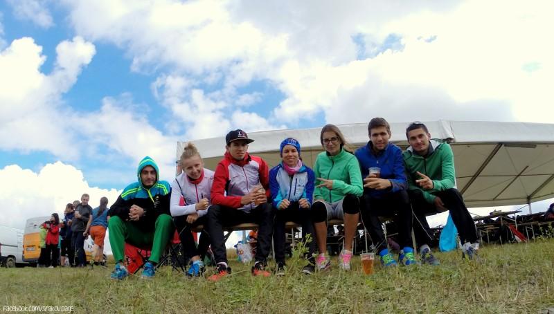 WUOC 2014 Czech - BUL team