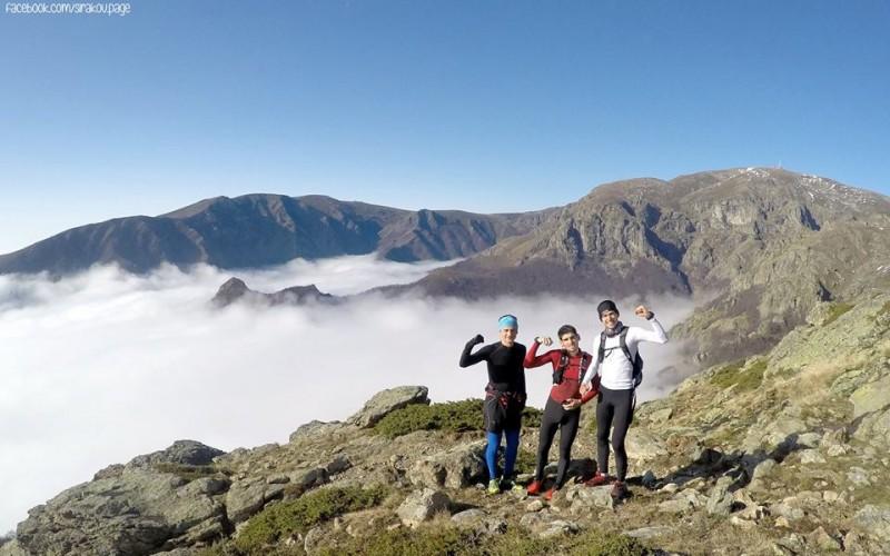 Бягане до връх Ботев, от Паниците