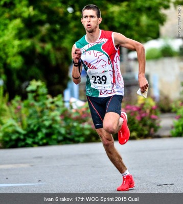 WOC 2015, Sprint Qual, Giving it all