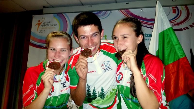 Бронзов дебют за мен в състезание по Радио ориентиране - Европейско първенство в Чехия!