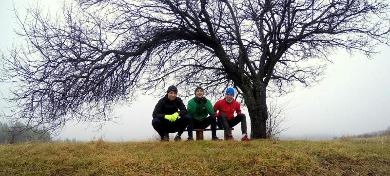 Бяганията с горнооряховската дружина също не са за подценяване за добрата физическа форма