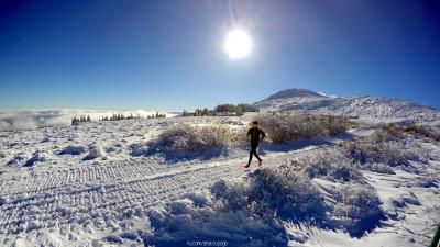 Ей за такива моменти човек си струва да бяга! Природата ни е уникална! Снимката/тренировката беше оценена дори от Suunto и от доста време е на 1ва страница на www.movescount.com (дек.2015)