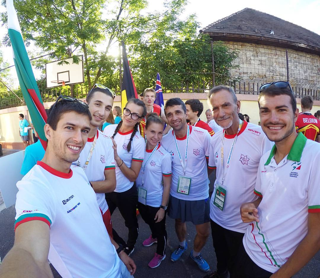 Световно студентско първенство по ориентиране, Унгария 2016 - БГ отбора