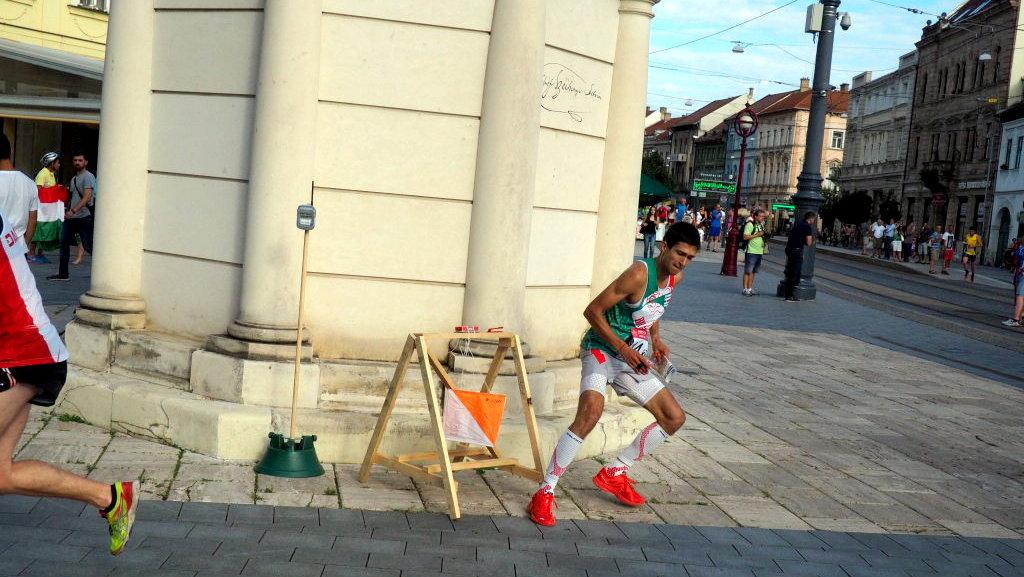 Световно студентско първенство по ориентиране, Унгария 2016, Смесена спринт щафета